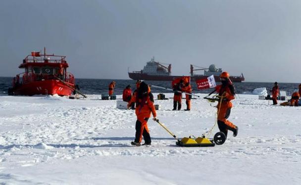 Арктик дахь Луугийн сонирхол буюу Хойд туйлыг дамнасан  шинэ Торгоны зам