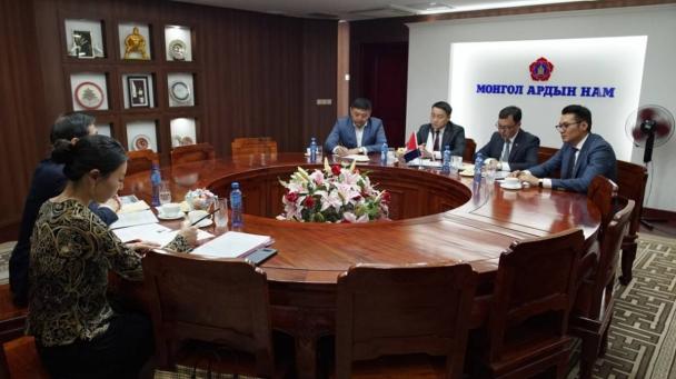 Азийн улс төрийн намуудын олон улсын бага хурлыг Монгол улсад зохион байгуулахаар болов